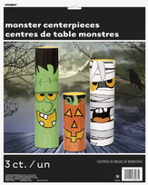 3 Piece Monster Centrepieces